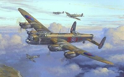 Heritage Avro Lancaster Military Airplane World War Counted Cross Stitch Kit