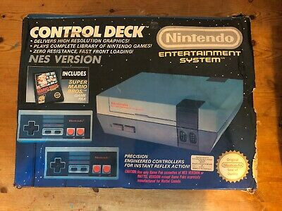 Nintendo Entertainment System NES-001 Action Set White Console