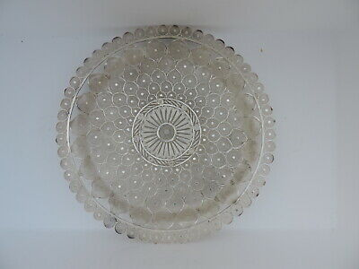 ANTIQUE LARGE ISLAMIC EASTERN SOLID STERLING SILVER FILIGREE TRAY 564gr 19.9 OZ