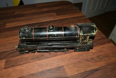 BOWMAN O GAUGE LIVE STEAM LOCOMOTIVE LOCO ENGINE TRAIN 234 loco black