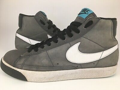 premium selection 90eb3 88d03 NIKE BLAZER HIGH Dark Grey/White/Blue/Black Style# 316664-014 Men's Size 8.5