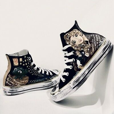 all star converse alte nere donna