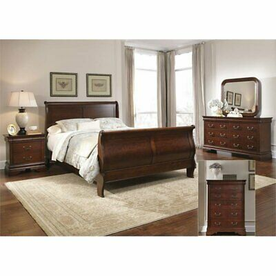 Liberty Furniture Arbor Place 5 Piece King Sleigh Bedroom