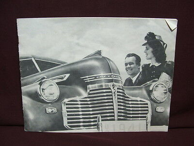 B1A 1941 Chevy Chevrolet Auto FULL LINE Dealership Sales Brochure FREE SHIPPING!