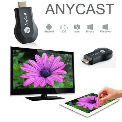 AnyCast M2 Plus Miracast DLNA Airplay WiFi Display Receiver Dongle HDMI 1080P UK