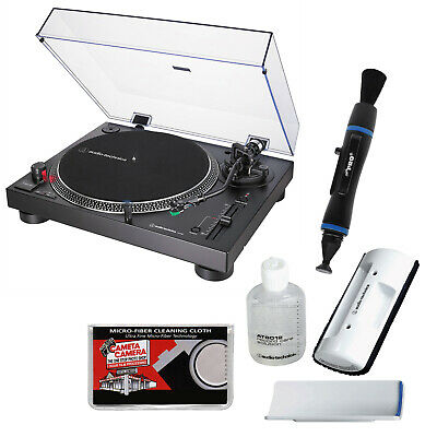 Audio-Technica AT-LP120XUSB Direct-Drive Professional Stereo Turntable (Black)