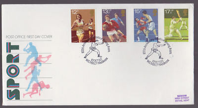Great Britain 1980 FDC Post Office Cover Sport Boxing Association Wembley Cancel