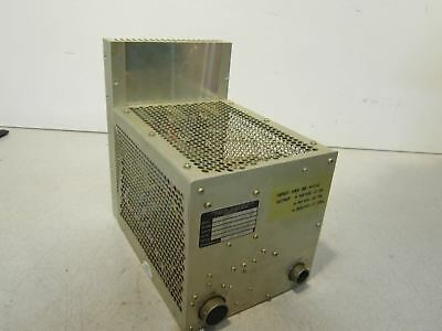Power Supply Transval Electronics 5481 NSN: 6130001136404