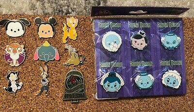 Disney Trading Pin Lot of 20 - Assorted characters