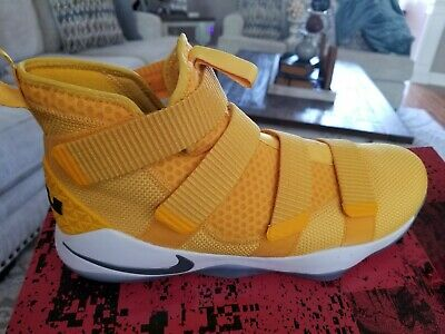 newest collection 64fce 66c7d Nike Lebron Soldier XI TB Promo Men s Basketball Shoes Universit Gold  943155 702