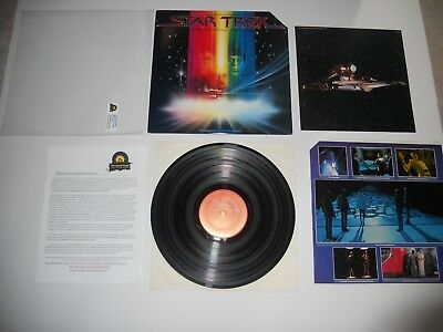 Star Trek The Motion Película Banda Sonora '79 1st Wally VG+ Ultrasónico Clean