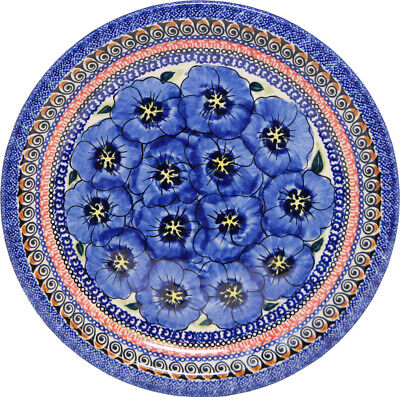 "Polish Pottery Dinner Plate 11"" from Zaklady Boleslawiec Polish 1014-148ar"