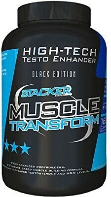 (80g, 47,25 EUR/100g) Stacker2 Europe Muscle Transform - 168 caps