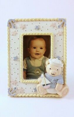 Teddy Bear Sailor Baby Picture Small Frame