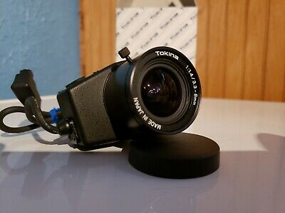 Tokina 3.3-8mm Cctv Varifocal Lens w Autoiris and Video Amplifier TVR 3314 AI