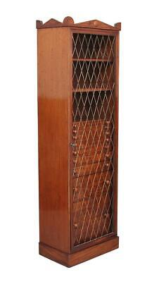 19Th Century Early Victorian Mahogany Collectors Cabinet