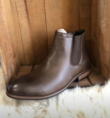 49a89bea106 MENS CHELSEA STYLE Landon boots from Vance Co. - Chestnut - Size 11 ...