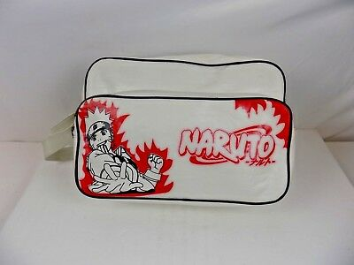 Naruto - Large White / Red Naruto Carry Bag
