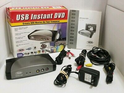 ADS USBAV 708 INSTANT VIDEOMPX DRIVERS FOR PC