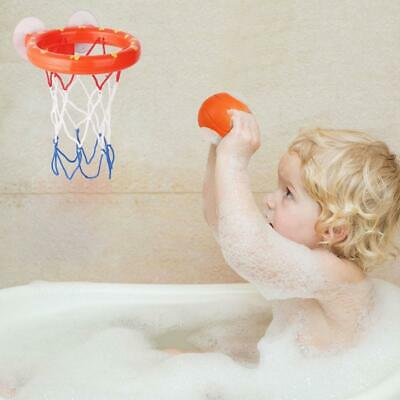 1 Set Bath Toy Basketball Hoop Suction Cup Mini Gift for Baby Kid Toddlers Bath