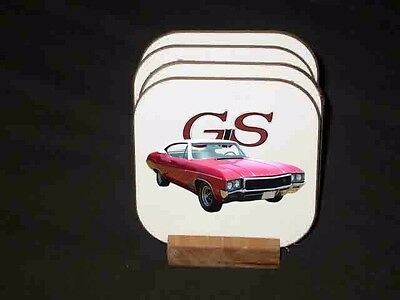 NEW Buick GS Hard Coaster Sets! (Many different sets available)