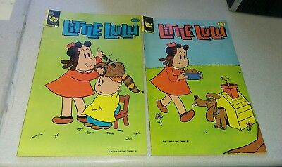Marge's little lulu 267 & 268 run whitman prepack bronze age cartoon comics lot