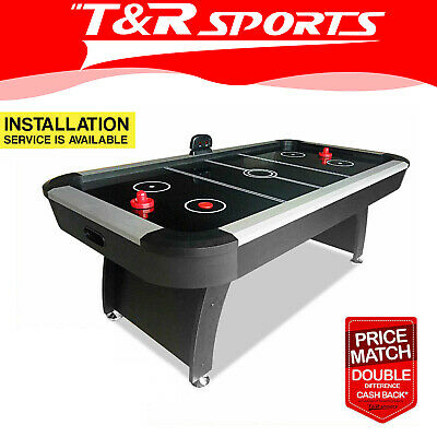 【XMAS SALE-UPTO 20%OFF】7FT Air Hockey Table with Score Counter for Game Room