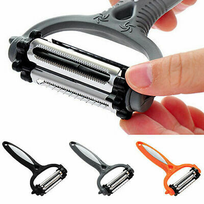 360 Rotary Kitchen Tool Vegetable Fruit Potato Peeler Cutter Slicer Melon Gadget