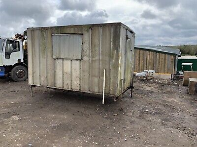 12ft Jackleg Office Canteen Site Cabin Portable Cabin building shed storage welf