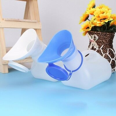 Male Female Urine Wee Bottle Portable Urinal Camping Travel Car Toilet