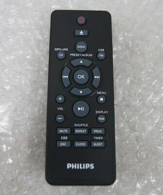 Genuine Remote For Philips DCM2068 Home Audio System for iPhone 5