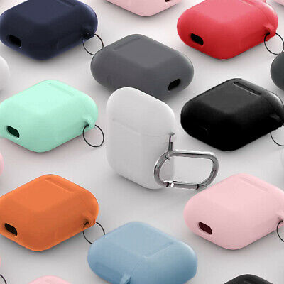For AirPods Silicone Case Cover Protective Skin for Apple Airpod Charging Case