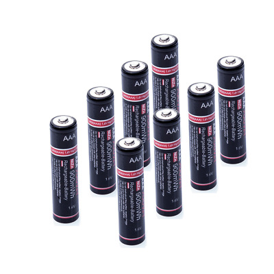 Industrial 1.5Volt Lr03 Rechargeable AAA Batteries Ni-Zn 1.6vBattery +Charger
