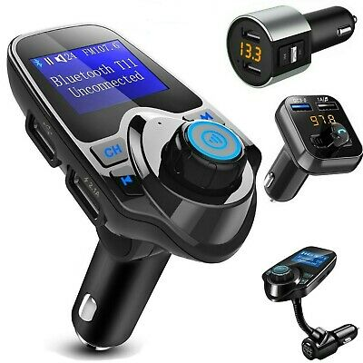 Bluetooth Wireless Car Kit MP3 Player FM Transmitter Radio Adapter USB Charger
