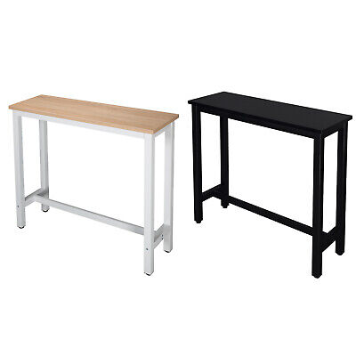 Bar Counter Kitchen Table Breakfast Dining Table Coffee Table Metal Legs u194