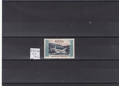 FRANCE  POSTE  AERIENNE 1954 - TIMBRE No 33  NEUF ** TTB  LUXE .