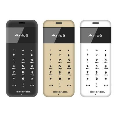 273f892ab2d7 Metal Ultrathin Screen Touch Bluetooth 2.0 Dual SIM Card Mini Mobile Phone  NIGH