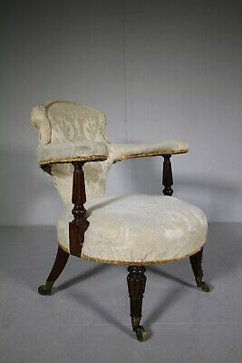 English William IV Antique Rosewood Armchair