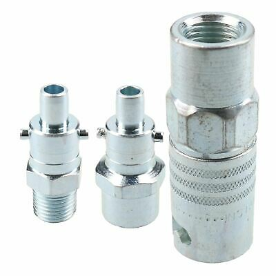"""PCL Instant Air Coupler 1/4"""" BSP Female Thread & Male Adaptors Bayonet Fitting"""