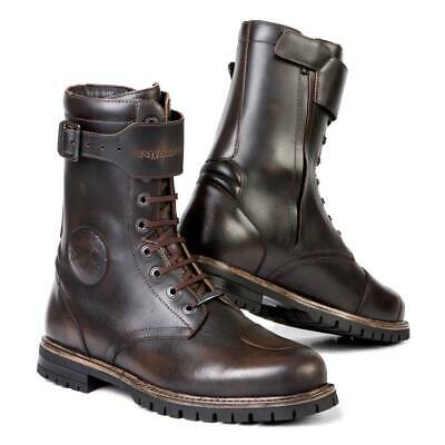 Stylmartin Rocket Waterproof Motorcycle Boots - Brown | Fast & Free Delivery