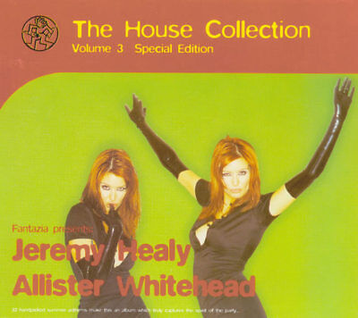 Fantazia Presents: The House Collection Vol.3 Healy & Whitehead (CD 1995) MINT!!