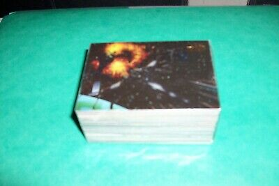 Star Wars Set Complet 72 Cartes Star Wars Vehicles