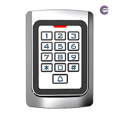 Access Control Keypad & Proximity Reader - 2000 Users - 12/24V - Doors, Gates