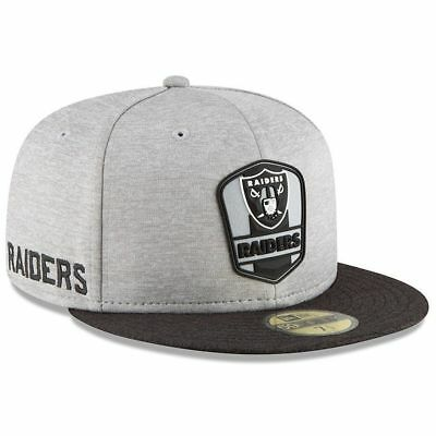 36f760c7a1bb7 OAKLAND RAIDERS NEW Era NFL Team Stretch-Snap 9FIFTY Curved Snapback ...