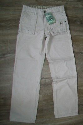 Neck & Neck-boys beige trousers.6y.Cotton.BNWT.RRP 34 Euro.