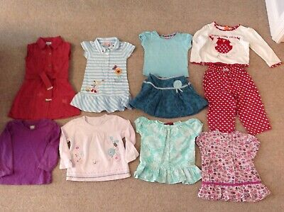 Girls Bundle Casual Summer Clothing fit girl 18-24 months Ted Baker, Next etc