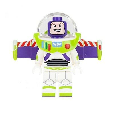 New Toy Story Buzz Lightyear Mini Figure with Base Stand. Birthday Gift.