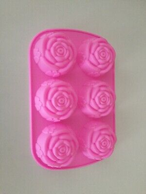 silicone mold - Rose Shape