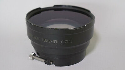 Wide Angle Lens PRO Century .8x Converter PRO C17143 with 2 step up rings