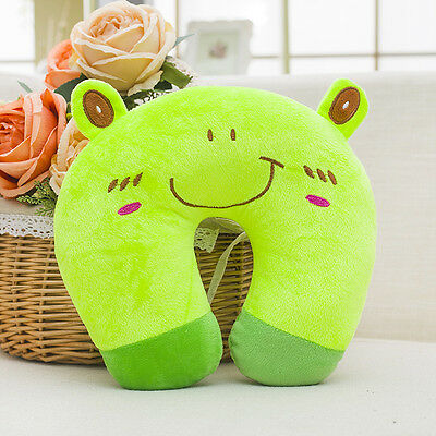 Baby Kid Toddler Animal Travel Car Neck Saver Head Rest U Support Pillow Cushion